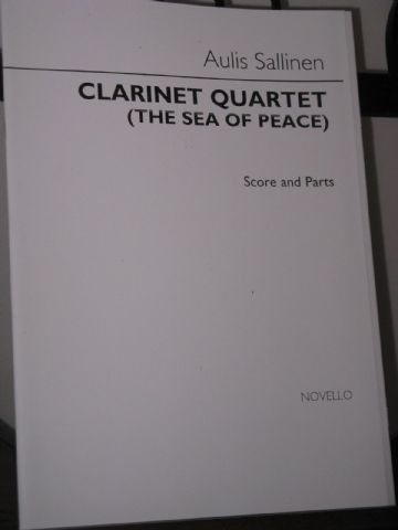Sallinen A - Clarinet Quartet 'The Sea of Peace' for Clarinet & Strings